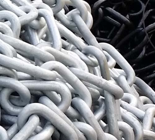 CHAIN OPEN LINK Gr-30 90 ft